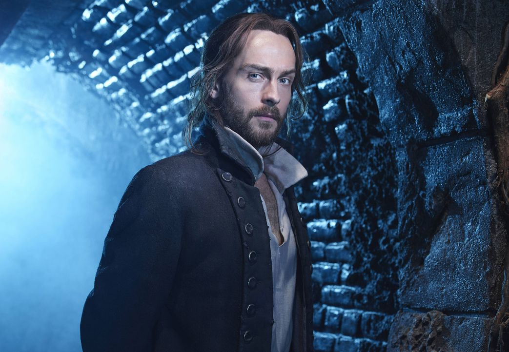 (2. Staffel) - Kann der Vergangenheit einfach nicht entfliehen: Ichabod (Tom Mison) ... - Bildquelle: 2014 Fox and its related entities. All rights reserved.