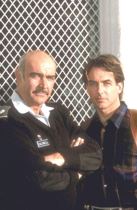 Wider Willen: Als ein Mord in der Militäranlage Presidio geschieht, müssen Cop Jay Austin (Mark Harmon, r.), der vor Jahren Soldat war, und sein ehe... - Bildquelle: Paramount Pictures