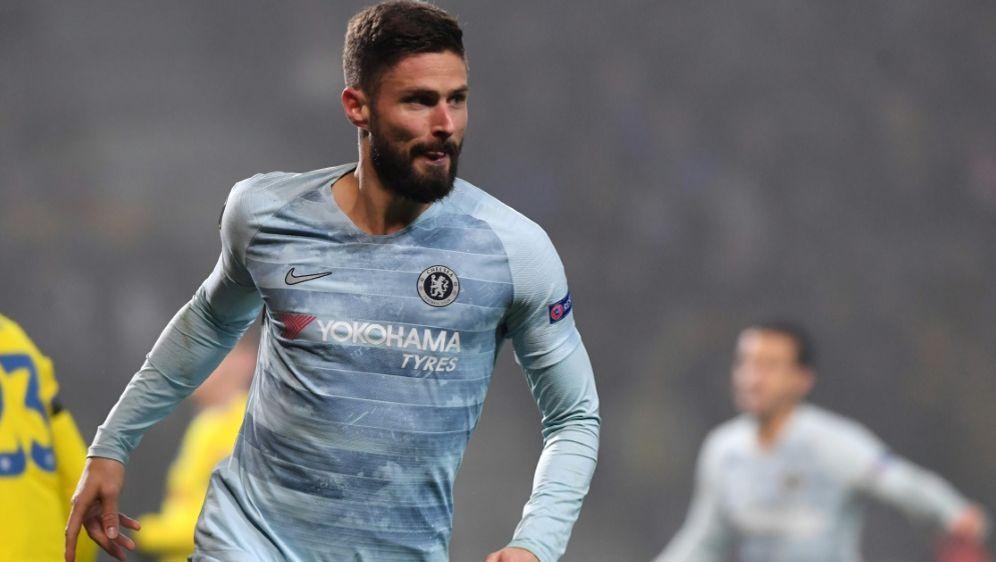 Olivier Giroud ließ Chelsea jubeln - Bildquelle: AFPSIDKIRILL KUDRYAVTSEV