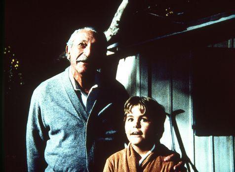 Ein Engel auf Erden - Fasziniert sehen sich Großvater Harvey (Harold J. Stone...