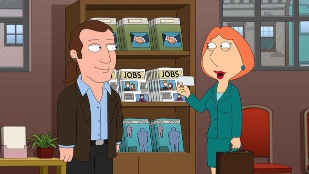 Family Guy - Um die Familienkasse aufzubessern, nimmt Lois (r.) heimlich eine...