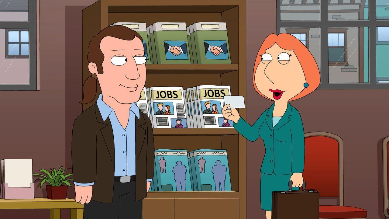 Um die Familienkasse aufzubessern, nimmt Lois (r.) heimlich einen Job bei einer Telefonsex-Hotline an ... - Bildquelle: 2013 Twentieth Century Fox Film Corporation. All rights reserved.