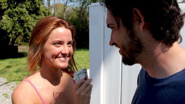 Noch glauben Missy (l.) und Jason (r.), einen ganz großen Coup gelandet zu ha...