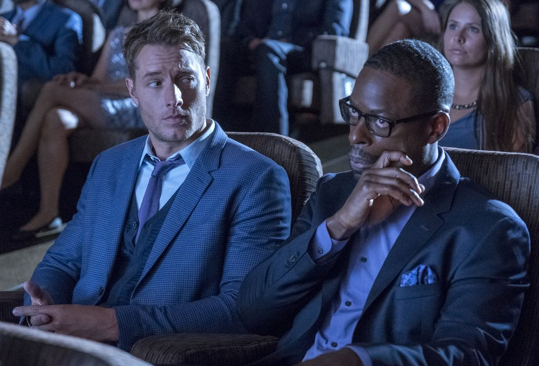 Kevin Pearson (Justin Hartley, l.); Randall Pearson (Sterling K. Brown, r.) - Bildquelle: Ron Batzdorff 2018-2019 NBCUniversal Media, LLC.  All rights reserved./Ron Batzdorff