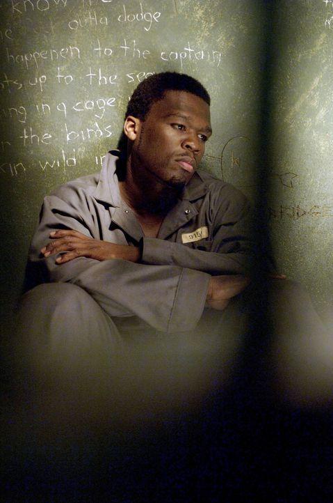 Im Knast beginnt Marcus (50 Cent), seine Gedanken und Gefühle aufzuschreiben und mit Rap-Musik zu unterlegen ... - Bildquelle: 2005 by PARAMOUNT PICTURES. All Rights Reserved.