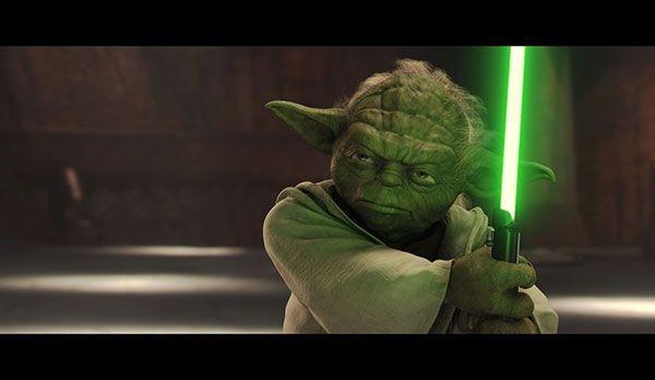 """Platz 3: Yoda aus Star Wars - Bildquelle: """"Star Wars - Episode II"""": auf DVD erhältlich (20th Century Fox)"""