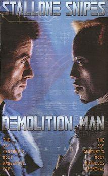 """Demolition Man - """"Demolition Man"""" - Plakatmotiv - Bildquelle: Warne..."""