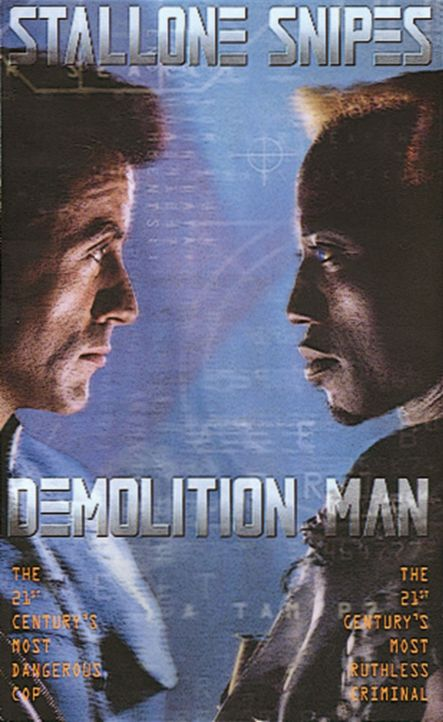 """Demolition Man"" - Plakatmotiv - Bildquelle: Warner Brothers International Television Distribution Inc."