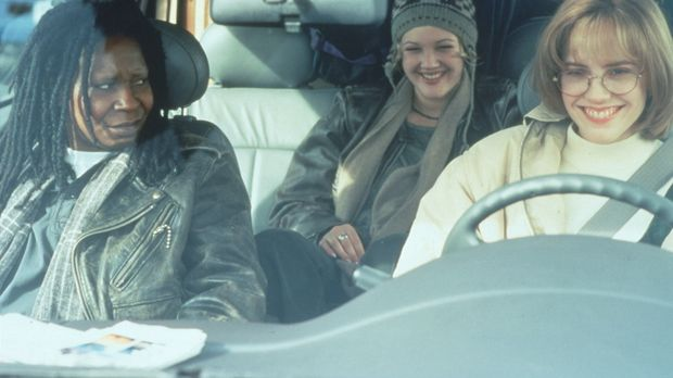 Jane (Whoopi Goldberg), Holly (Drew Barrymore) und Robin (Mary-Louise Parker)...