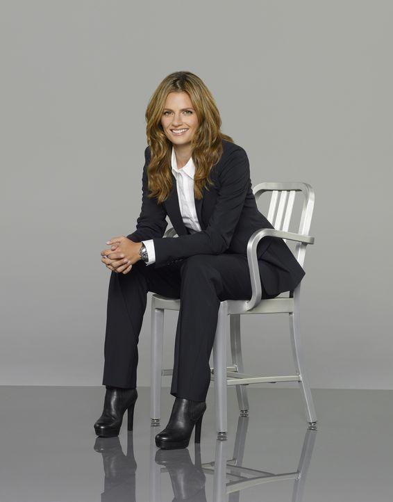 (7. Staffel) - Arbeitet strikt nach Regeln der Polizei: Kate Beckett (Stana Katic) - Bildquelle: ABC Studios