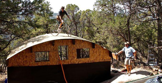 Die rauen Rocky Mountains im Westen Colorados sind ein Traum für tollkühne Ou...
