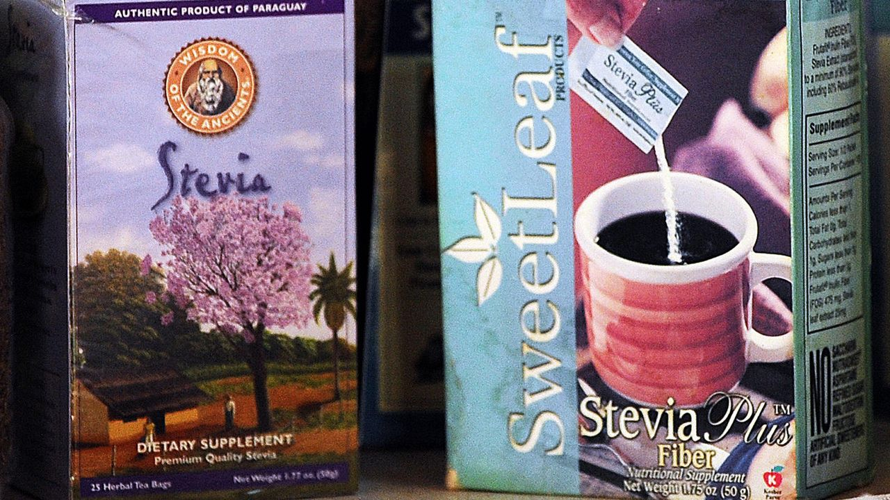 Stevia-Produkte - Bildquelle: AFP / Norberto Duarte