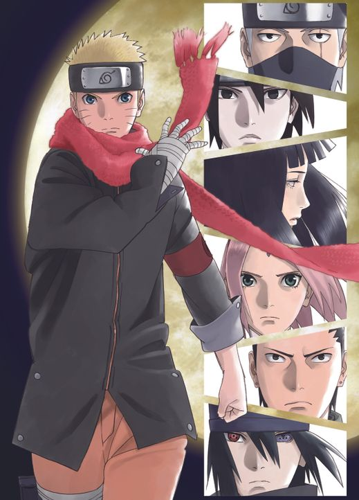 The Last: Naruto the Movie - Artwork - Bildquelle: 2002 MASASHI KISHIMOTO /2007 Shippuden   NMP 2014