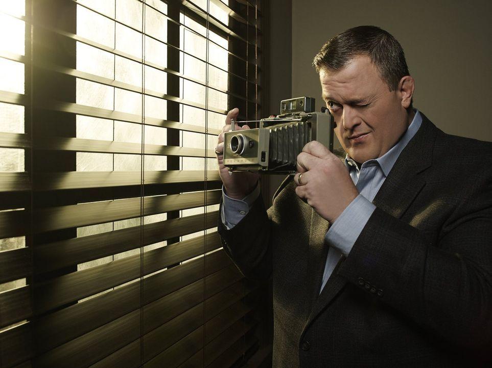 (3. Staffel) - Der gefühlvolle Polizist Mike (Billy Gardell) ist von seiner Molly ganz angetan ... - Bildquelle: Warner Brothers