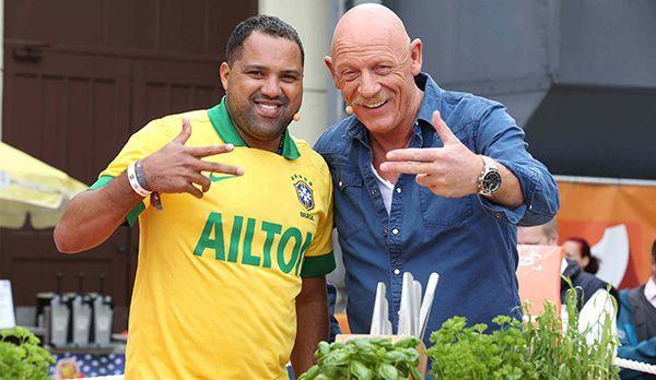 Ailton und Joe Bausch - Bildquelle: kabel eins/ Ralf Jürgens