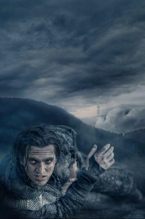 (3. Staffel) - Der angeblichen Stadt des Lichts kann Murphy (Richard Harmon) nicht viel abgewinnen und trifft eine Entscheidung ... - Bildquelle: 2014 Warner Brothers