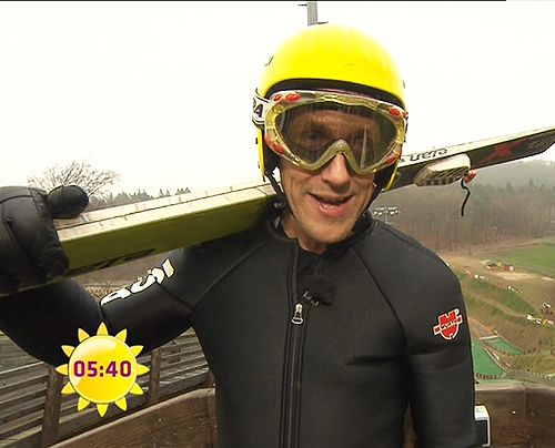 fruehstuecksfernsehen-jan-hahn-skispringen-005 - Bildquelle: Sat.1