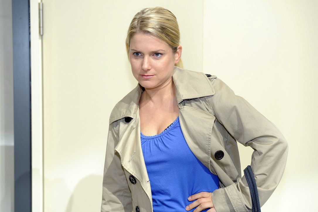 Anna (Jeanette Biedermann) ist nicht mehr bereit, sich alles gefallen zu lassen ... - Bildquelle: Oliver Ziebe Sat.1