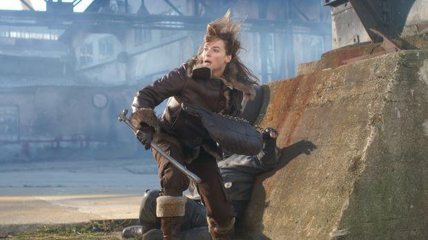 Beim Kampf auf dem abgelegenen Dock entwickelt Anna (Thekla Reuten) übernatür...