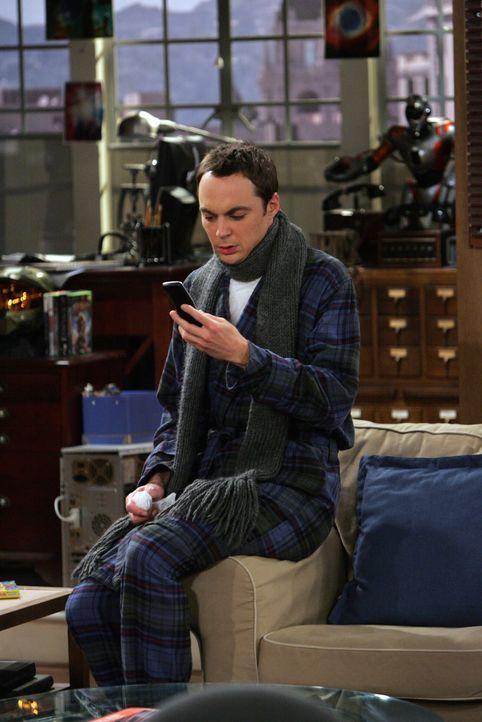 Als Penny von einem Heimatbesuch zurückkommt, erzählt sie, dass alle plötzlich krank wurden. Und es dauert nicht lange bis Hypochonder Sheldon (J... - Bildquelle: Warner Bros. Television