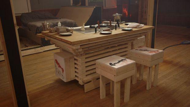 Mit ihrem neuesten Projekt, einem besonderen Indoor-Grill, wollen Andrew und...