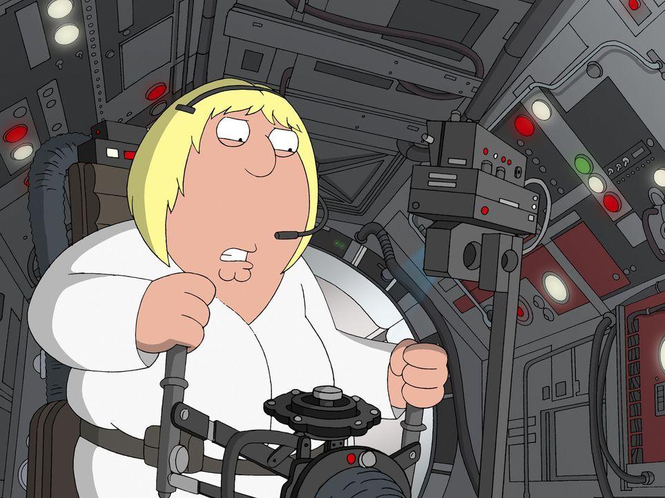 """Möge die Macht mit """"Family Guy"""" sein, der Griffin-Clan dreht die größte Science-Fiction-Saga aller Zeiten durch die Mangel: Chris als halbwüchsi... - Bildquelle: TM +   Twentieth Century Fox Film Corporation. All Rights Reserved."""