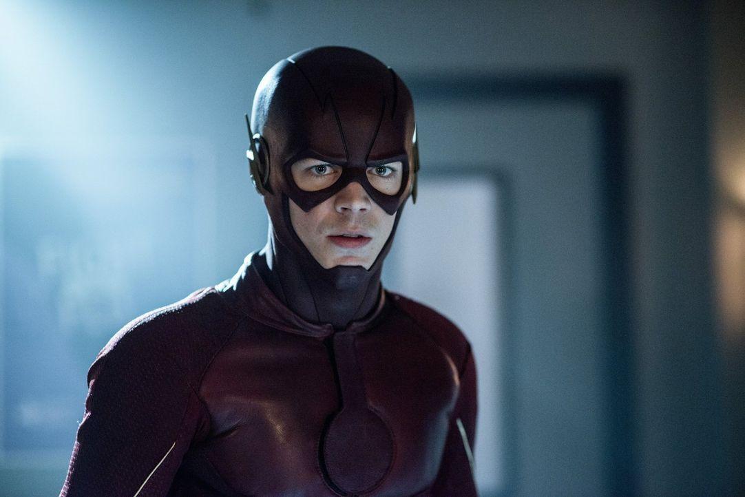 Während Barry alias The Flash (Grant Gustin) in der Speed Force nach Wally sucht, will Jesse alleine den Kampf mit Savitar aufnehmen. Können die and... - Bildquelle: 2016 Warner Bros.
