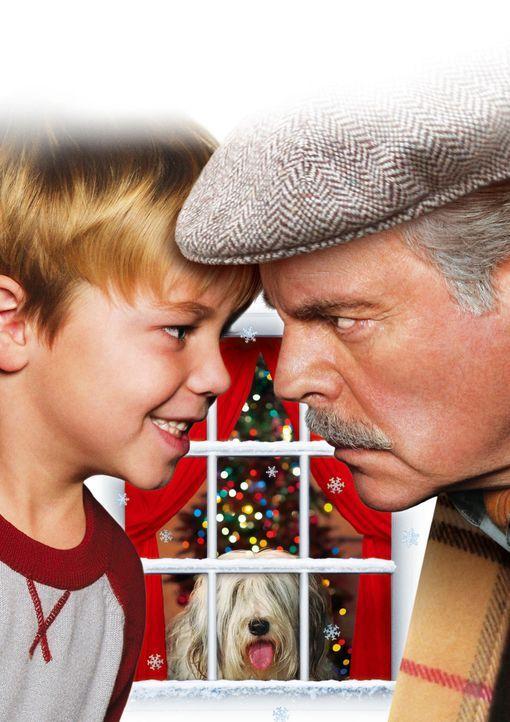 """""""Weihnachten mit Dennis"""" mit Maxwell Perry Cotton, l. und Robert Wagner, r. - Bildquelle: Warner Bros."""