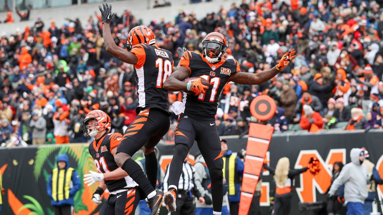 Cincinnati Bengals (2 Spieler) - Bildquelle: imago/ZUMA Press