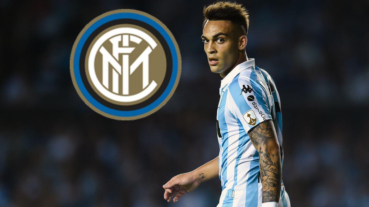 Lautaro Martinez (Zugang Inter Mailand) - Bildquelle: 2018 Getty Images