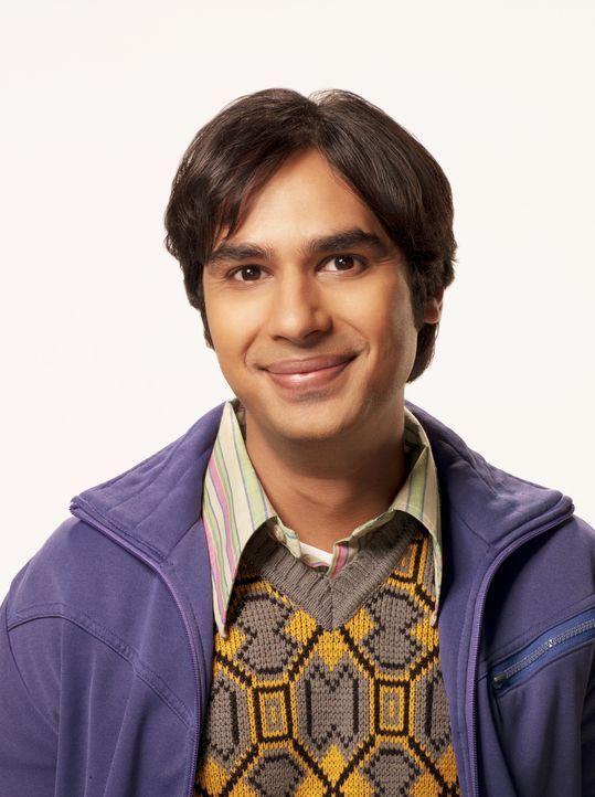 (4. Staffel) - Führt ein ziemlich seltsames Leben: Rajesh (Kunal Nayyar) ... - Bildquelle: Warner Bros. Television