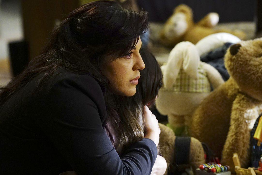 Der Sorgenrechtsstreit von Callie (Sara Ramirez) und Arizona geht vor Gericht. Doch wer wird am Ende gewinnen? - Bildquelle: Richard Cartwright ABC Studios