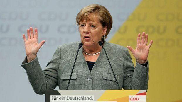 Angela Merkel bei CDA Veranstaltung in Dortmund