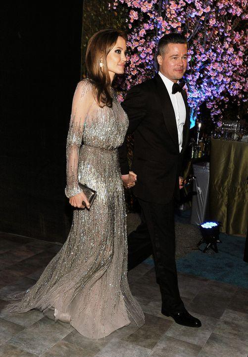 Oscars-Governors-Ball-Brad-Pitt-Brad-Angelina-Jolie-140302-AFP - Bildquelle: AFP