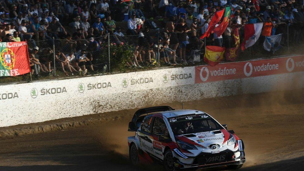 Tänak hat das erste Rennen in Portugal gewonnen - Bildquelle: AFPSIDFRANCISCO LEONG
