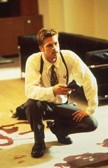 Sieben - Noch immer tappt der Polizist David Mills (Brad Pitt) im Dunkeln. Do...