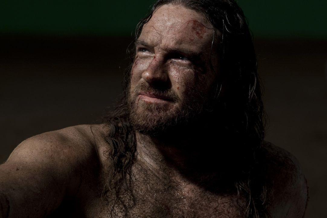 Riskiert Kopf und Kragen für Rom, um schließlich in der Arena zu landen: Drenis (Kyle Rowling) ... - Bildquelle: 2010 Starz Entertainment, LLC