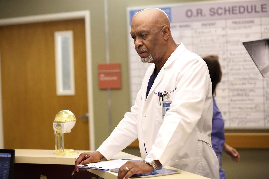 Ist von Baileys Reaktion enttäuscht: Richard (James Pickens, Jr.) ... - Bildquelle: ABC Studios