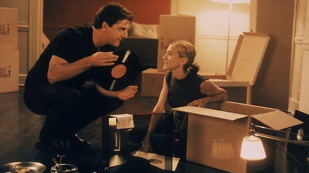 Big (Christopher Noth) und Carrie (Sarah Jessica Parker) wollen einen Tanz wa...