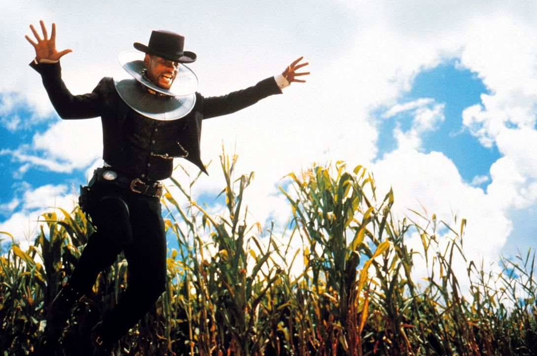Gerät mal wieder in eine ziemlich verzwickte Lage: Regierungsagent Jim West (Will Smith) ... - Bildquelle: Warner Bros. Pictures