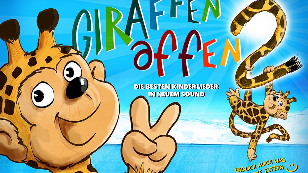 Die Giraffenaffen sind zurück mit neuen Kinderliedern
