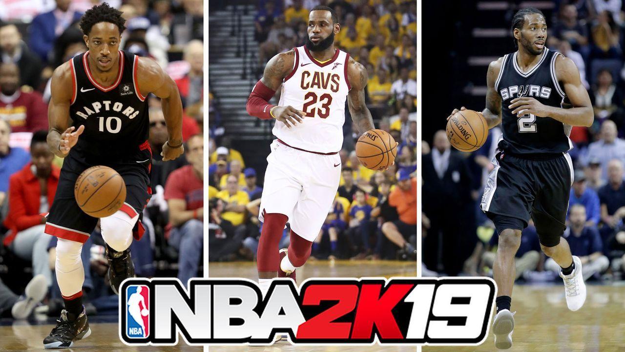 NBA 2K19: Erste Spieler-Ratings veröffentlicht