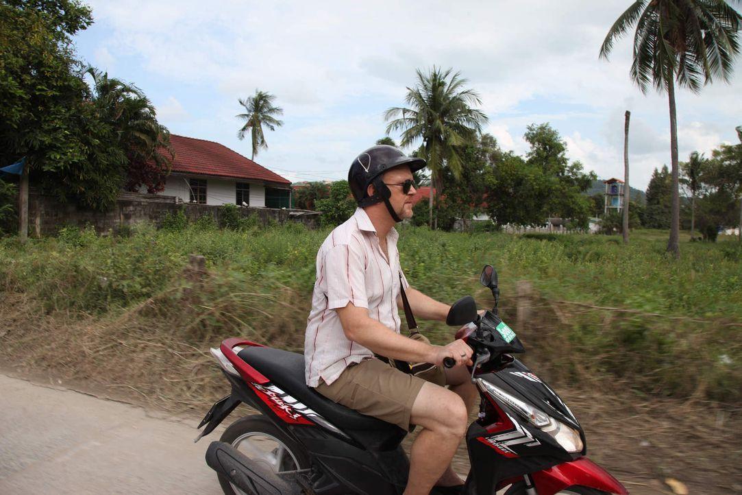Um Diebe und Abzocker aufzuspüren und deren Tricks und Gaunereien aufzudecken, ist Peter Giesel  dieses Mal in Thailand unterwegs ... - Bildquelle: kabel eins