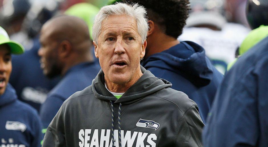 Platz 1: Pete Caroll (Seattle Seahawks) - Bildquelle: getty images