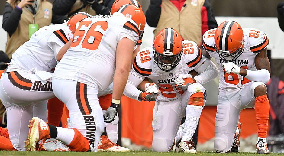 Platz 5 (geteilt): Cleveland Browns (AFC North) - Bildquelle: 2017 Getty Images
