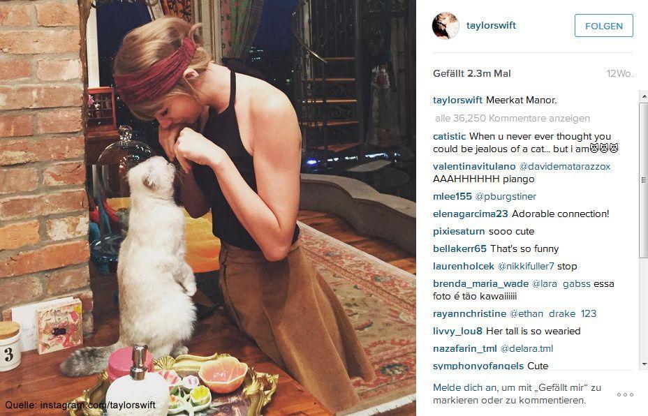Beliebteste-Instagram-Bilder-2015-taylorswift-2 - Bildquelle: instagram.com/taylorswift