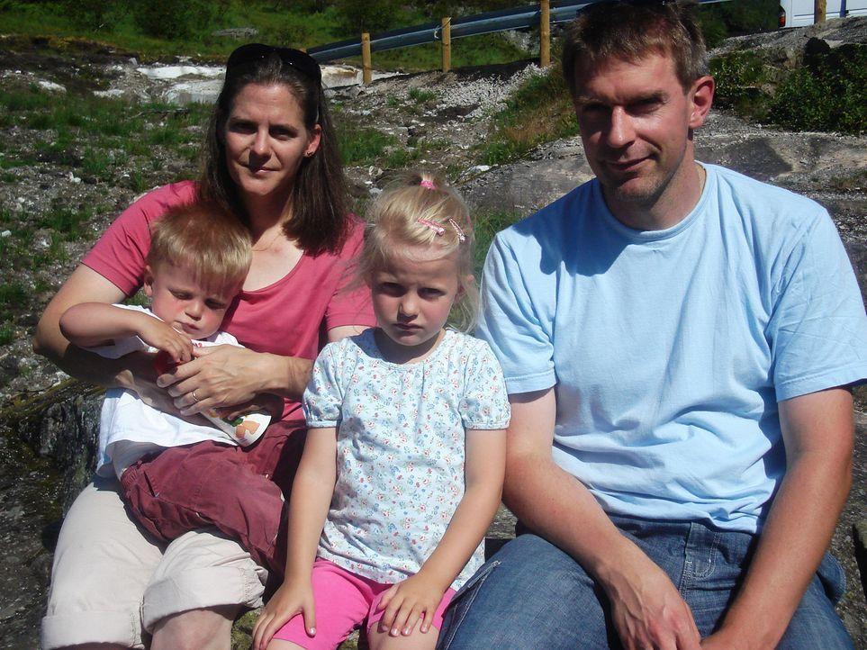 Die vierköpfige Familie Meyn wandert von dem kleinen Ort Tespe in Niedersachsen nach Norwegen aus. - Bildquelle: kabel eins