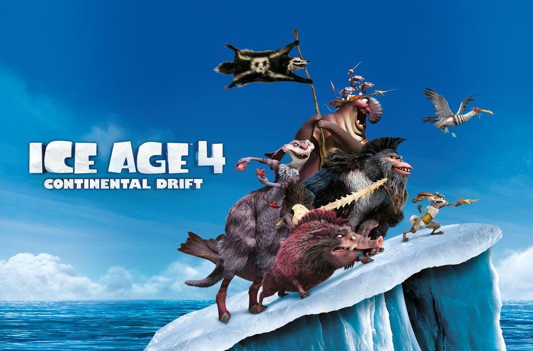 ICE AGE 4 - VOLL VERSCHOBEN - Plakatmotiv - Bildquelle: TM &   2012 Twentieth Century Fox Film Corporation. All rights reserved.