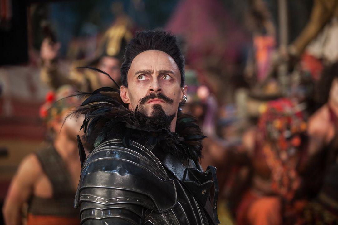 Um Nimmerland zu retten, muss das fantastische Land von der Herrschaft des finsteren Piraten Blackbeard (Hugh Jackman) befreit werden. Kann der muti... - Bildquelle: Warner Brothers
