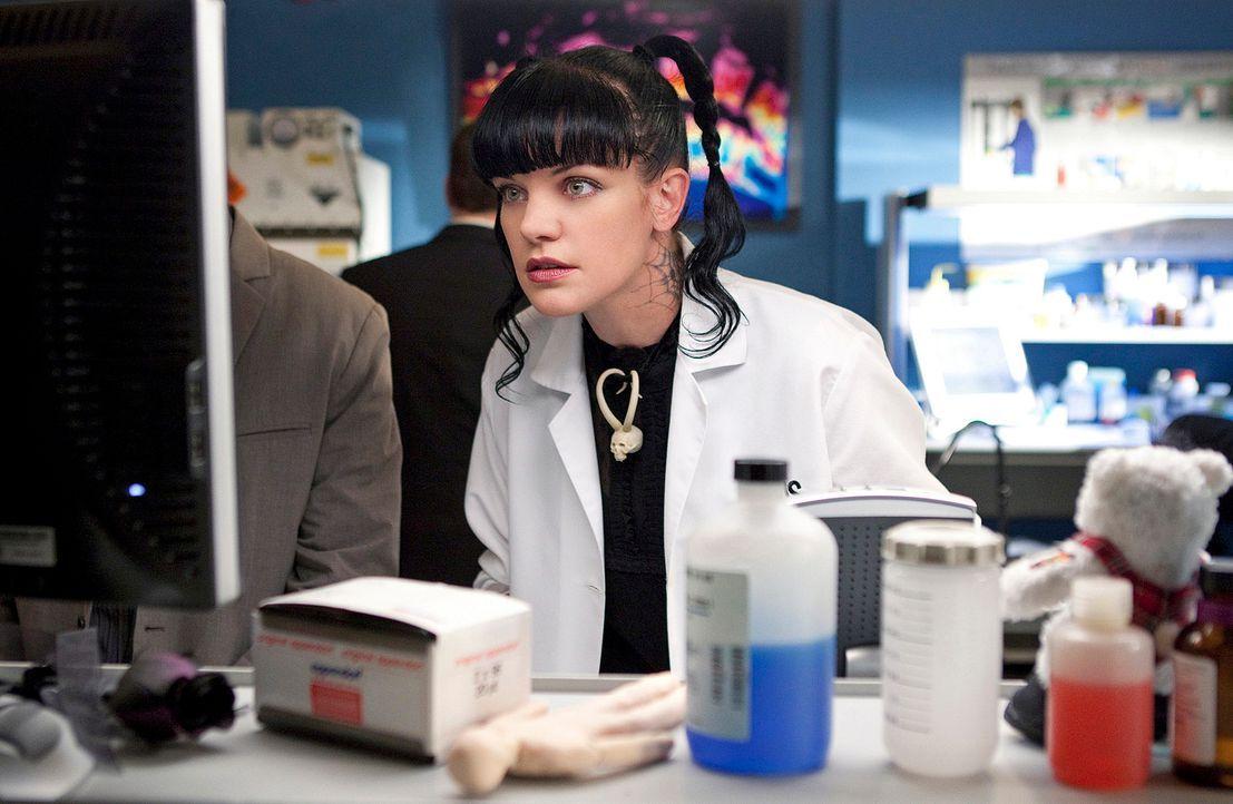 Gibt alles, um einen neuen Fall aufzudecken: Abby (Pauley Perrette) ... - Bildquelle: CBS Television